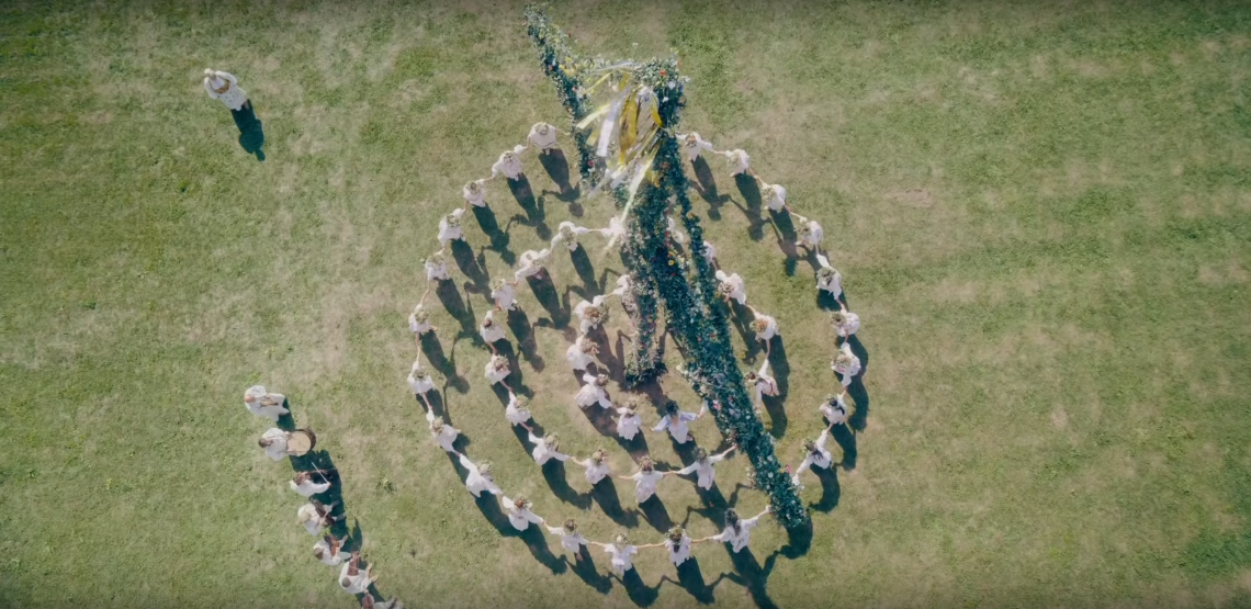 A still from 'Midsommar'.