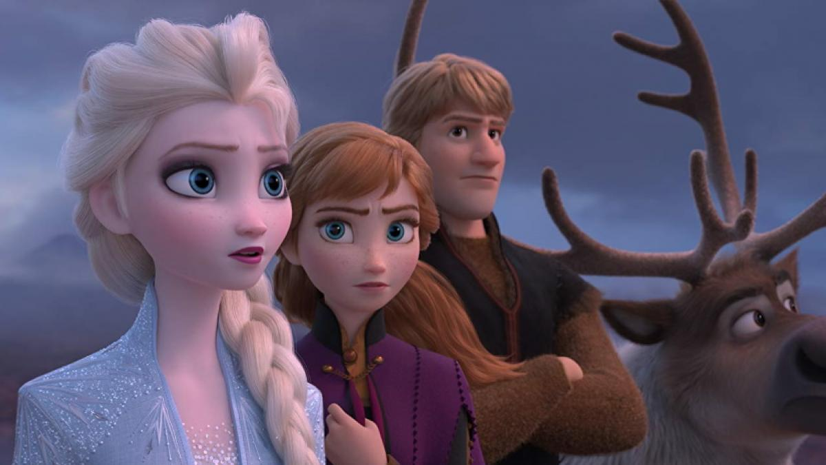 Elsa, Anna, and Kristoff face the future in Chris Buck and Jennifer Lee's 'Frozen II'.