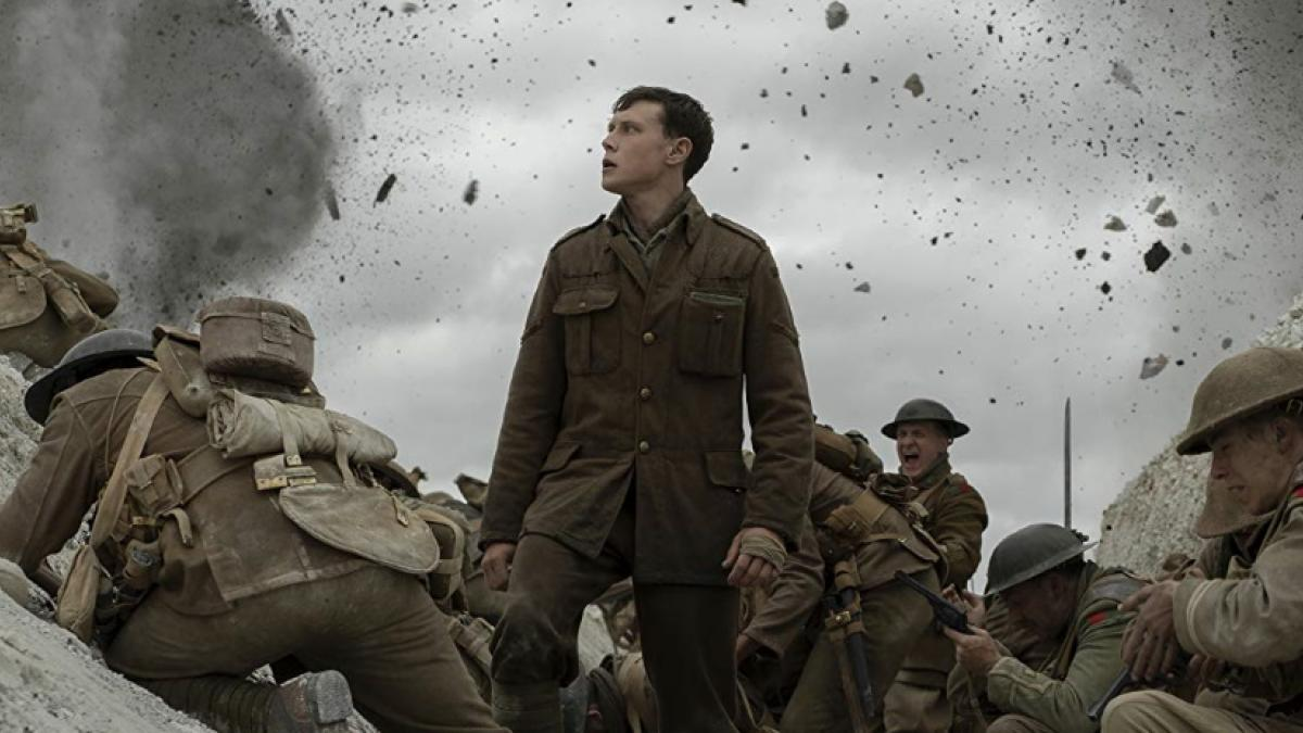 Lance Corporal William Schofield (George MacKay) navigates the war to end all wars in Sam Mendes' '1917'.