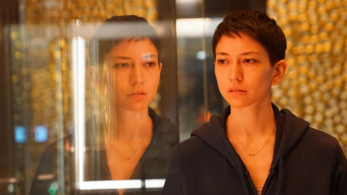 Lily (Sonoya Mizuno) confronts a dangerous tech company in Alex Garland's limited series 'Devs'.