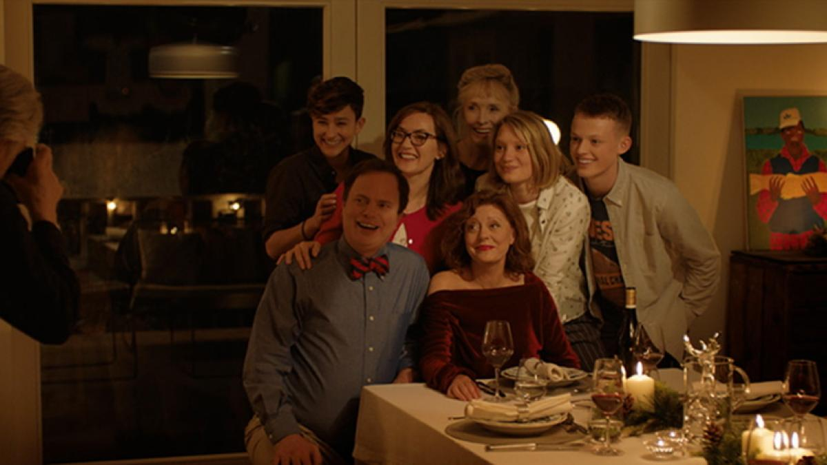 Susan Sarandon (right front) is a matriarch who arranges to bring her family together one last time in Roger Michell's 'Blackbird'.