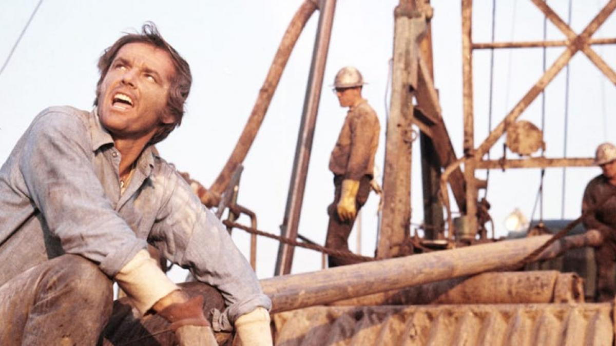 Jack Nicholson is a college drop-out working the oil fields of California in Bob Rafelson's 'Five Easy Pieces'.