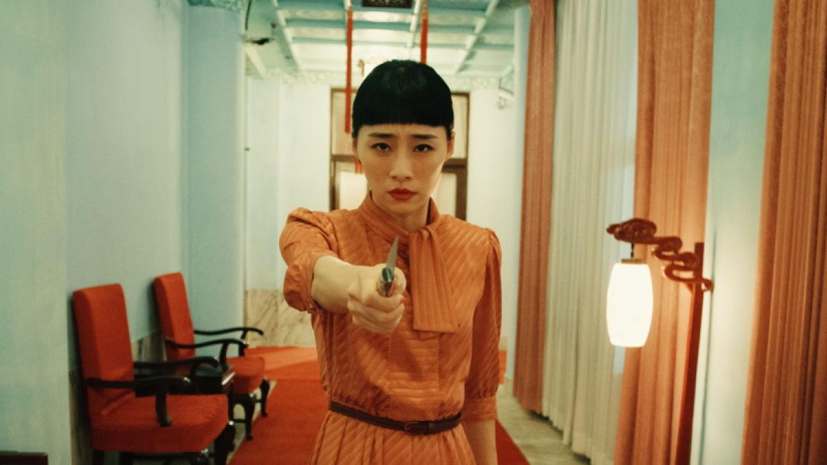 Ke-Xi Wu is an actress whose hold on her career, image, and identity starts to slip away in Midi Z's 'Nina Wu'.