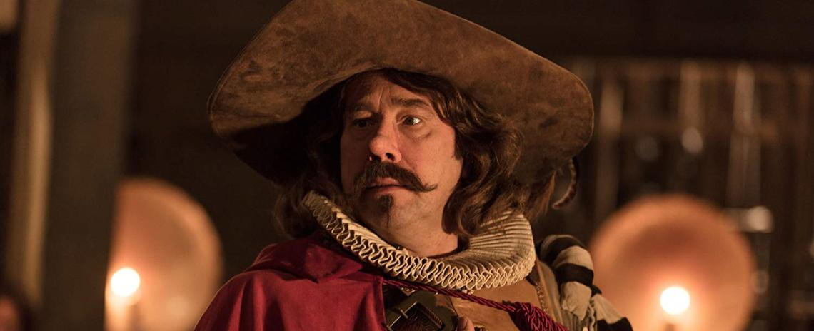 Constant Coquelin (Olivier Gourmet) originates the titular role in Alexis Michalik's Cyrano, My Love.