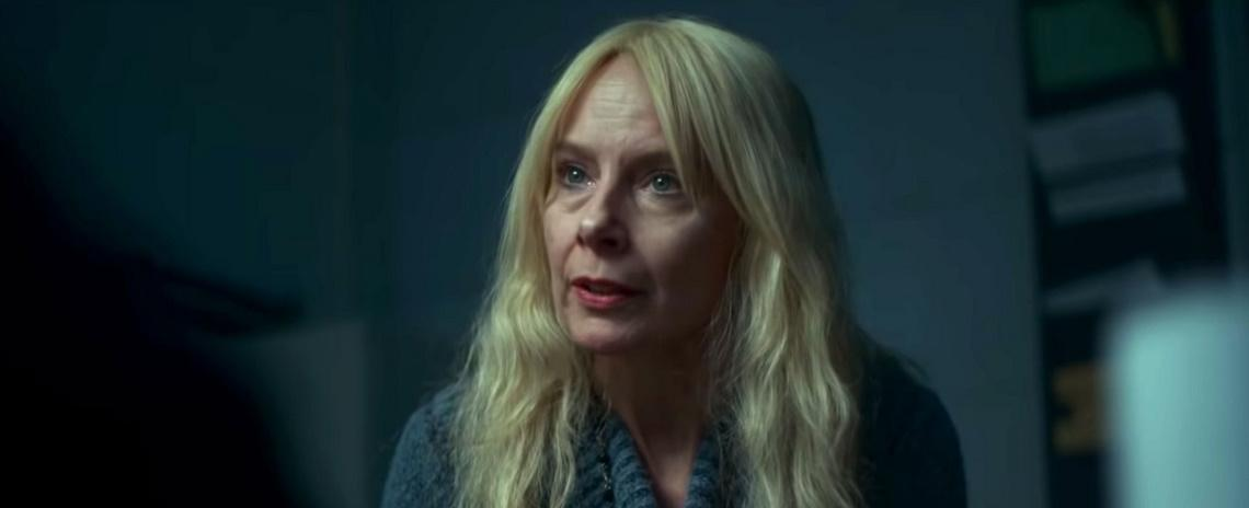 Mari Gilbert (Amy Ryan) confronts indifferent law enforcement while searching for her missing daughter in Liz Garbus' 'Lost Girls'.